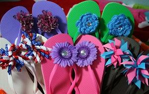 5f1c7859f72fcc Easy DIY Fun Flip Flops! - The Hair Bow Company