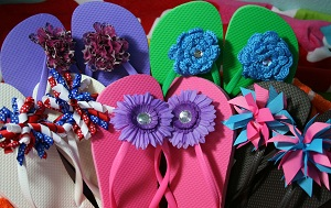 e2393678d Easy DIY Fun Flip Flops! - The Hair Bow Company