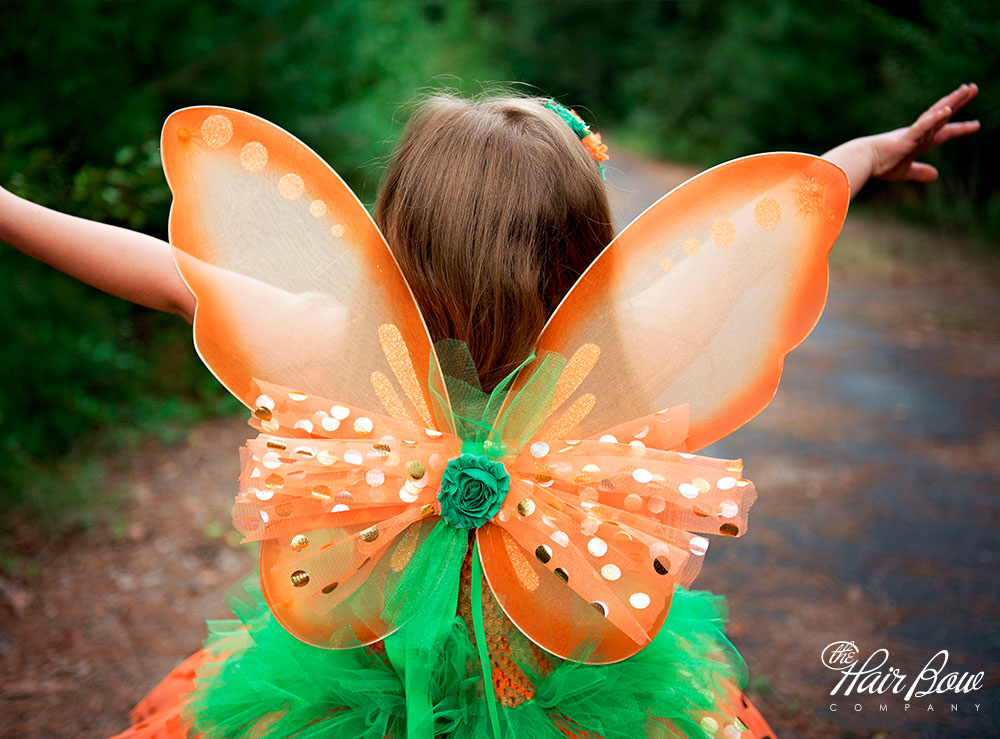 Pumpkin Fairy Tutu Dress DIY Tutorial from The Hair Bow Company