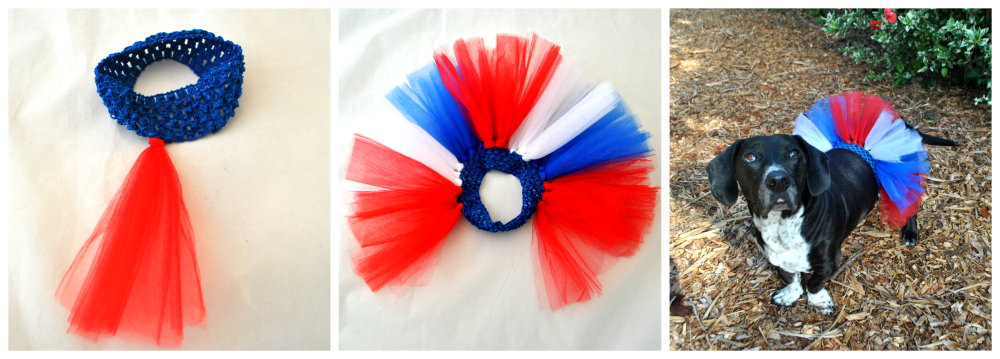 How to make a dog tutu DIY tutorial.