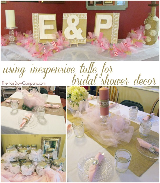 Bridal Shower Decor The Hair Bow Company Boutique