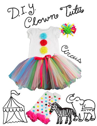 Diy Clown Costume The Hair Bow Company