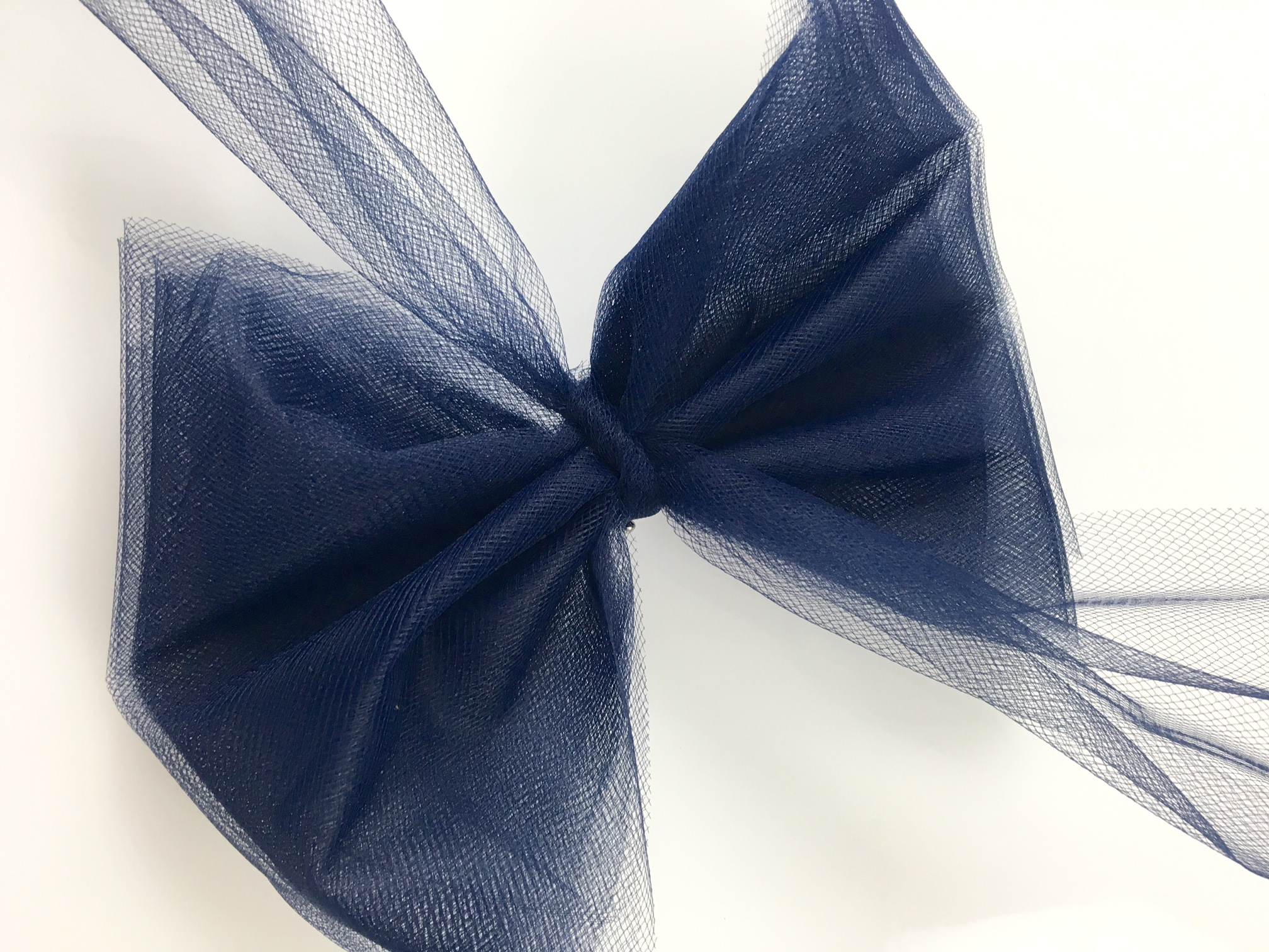 Tulle Hair Bow back side 7aee35c3c39