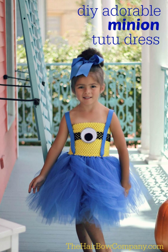 DIY Adorable Minion Tutu Dress | DIY Minions Costume Ideas You Have to Check Out | DIY Minions Costume | halloween costumes
