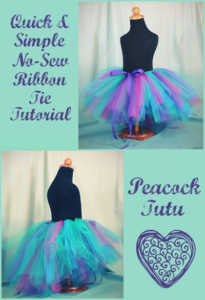 73839c0958 No-Sew Ribbon Tie Tutu - The Hair Bow Company - Boutique Bows   Clothes