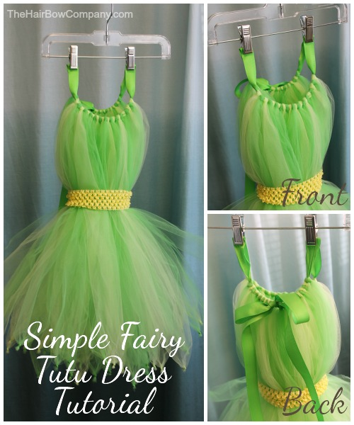 diy fairy tutu dress