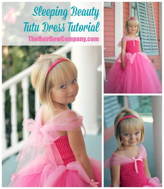 207231642 Sleeping Beauty Tutu Dress - The Hair Bow Company