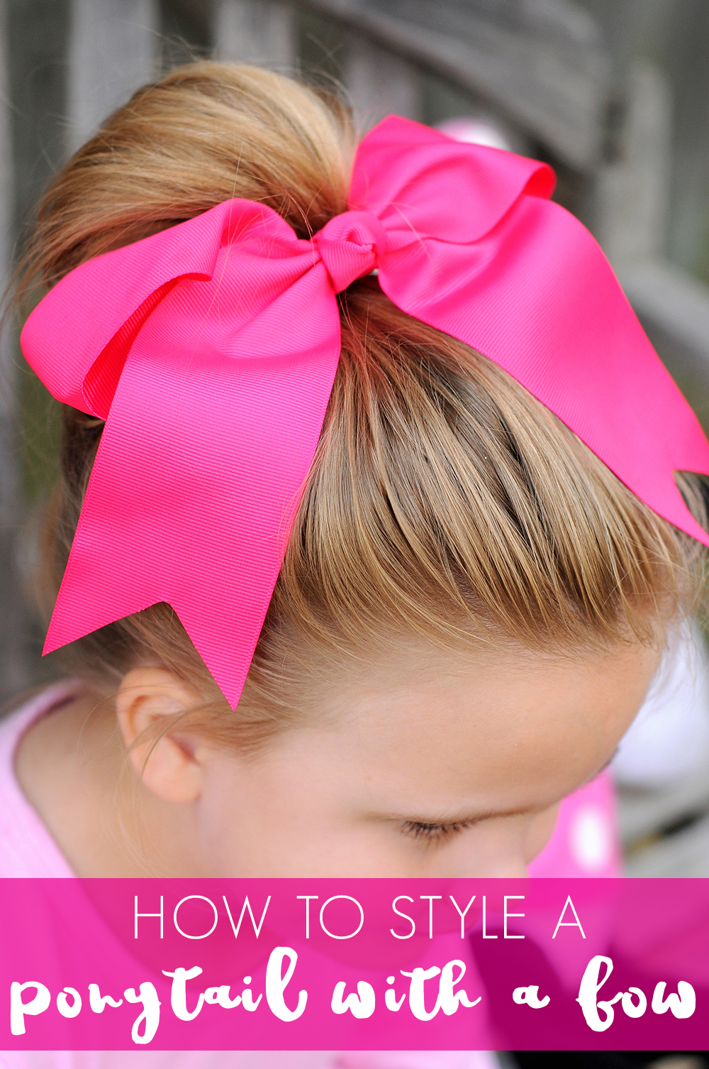 Simple Ways To Use Hair Bows In Your Little Girl S Hair The Hair Bow Company Boutique Clothes Bows